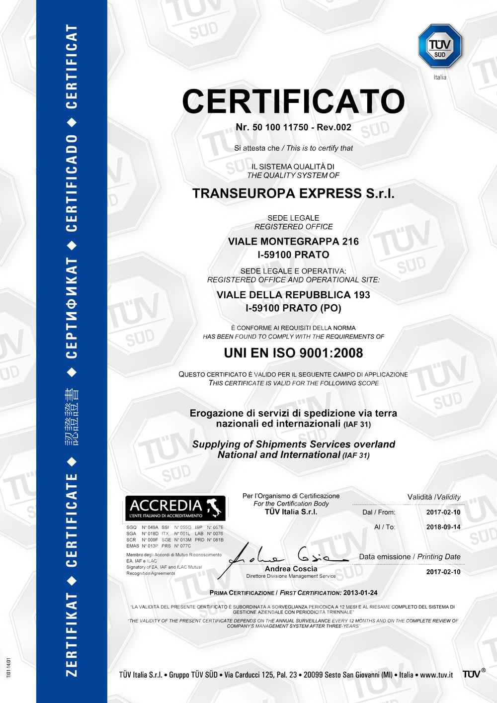 certificato-tuv-iso-9001